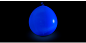 LED Balloons Dark Blue