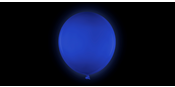 Giant Blue Balloon 80 cm